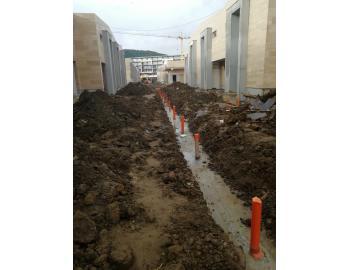 Дъждовна канализация със седла