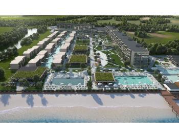 Панорамен изглед на хотела